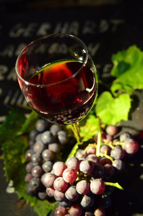 포도와 적포도주